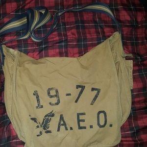 Modern vintage messenger bag